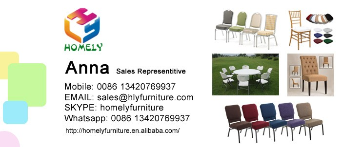 Foshan Homely Furniture Modern New Design Stainless Gold Oval Stainless Steel Wedding Chairs