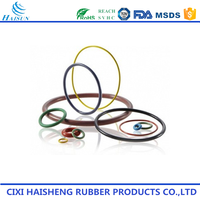 FDA Excellent quality High Tear Resistance Black hnbr silicone rubber o rings