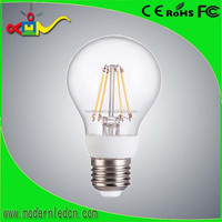 360 degree b A60 6w, 640lm, CE, ERP, RoHS certified LED Filament LED-Lampe Licht