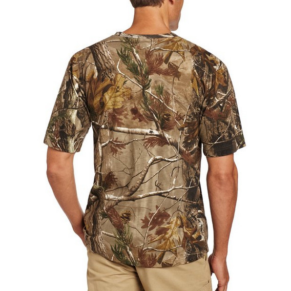 Wholesale Realtree Camo Shirt For Men With Customzied Logo