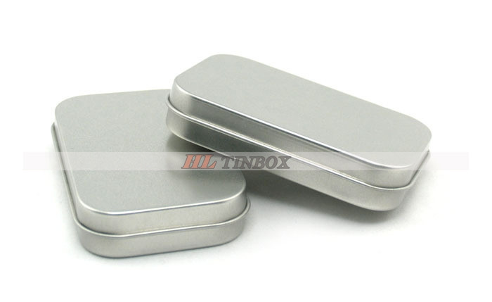 Rectangular Mint Tins with Hinged