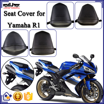 For Yamaha R1 Rear Passenger Seat Cushion Pillion Motorbike Leather Motorcycle Seat Cover