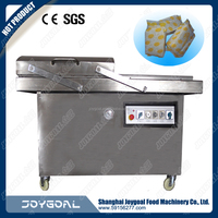 automatic thermoforming continuous stretch film vacuum packing machine