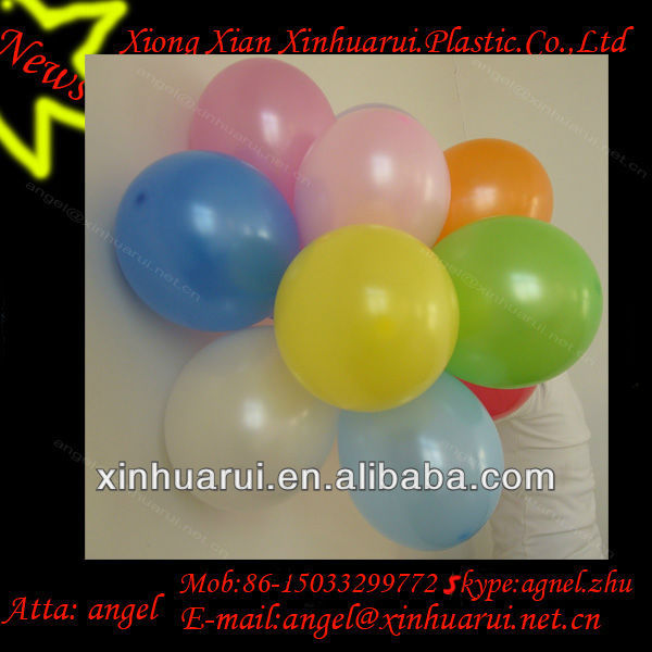 round balloon party games