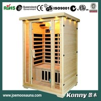 dry far infrared home sauna with carbon heater KL-200C-H