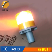 factory Solar LED beacon warning safety flashing light