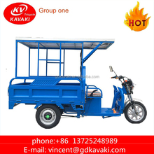 New Product 1000 W Solar Powered Tricycles For Adults Cargo Use Tricycle On Sale