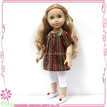 Toy Arab style CE test 18 inch doll face plastic toy