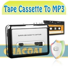 New Arrivals!!!Cassette Tape To MP3 Converter Capture Adapter Digital Audio Music Player