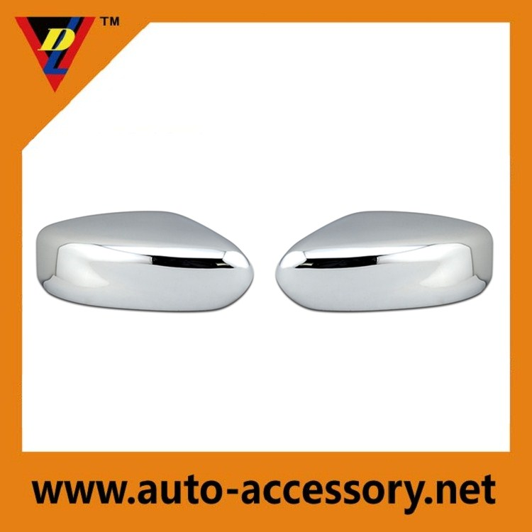 Customized auto parts plastic chrome plating car side mirror cover for NissanAltima 2013-2015