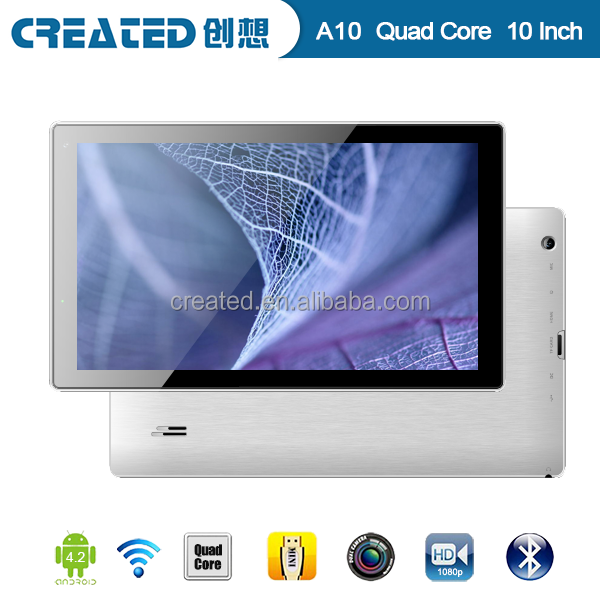 10'' Allwinner A33 Quad core 1.2GHz android tablet pc bluetooth