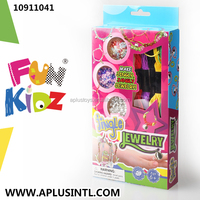 Kids Craft DIY Girls Toys Jingle Jewelry Kits