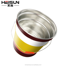 hot sale round ink tin can packing with customized printing
