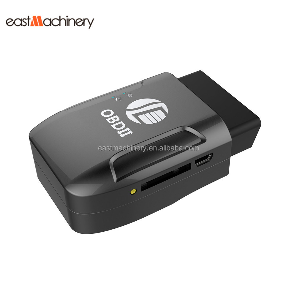Real Time Google Map Tracking OBD II Car GPS Tracker Anti Jammer TK206