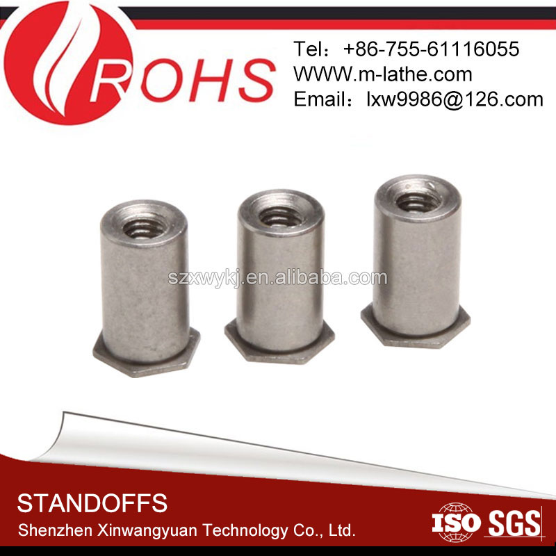 Self-Clinching Blind Hexagonal Electrical Standoff Fastener