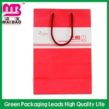 excellent design oem service factory promotion hand paper bag with wheels