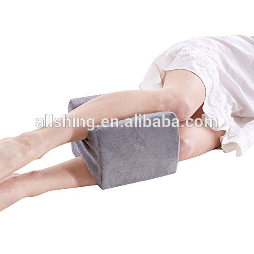 Wholesale Knee Pillow Leg Positioner - Made from Memory Foam - Removable and Washable Cover