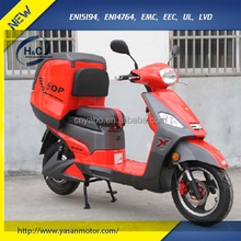 China Hot 3000w 72v 20ah EEC piza dilivery electric scooter/ e- motorcycle