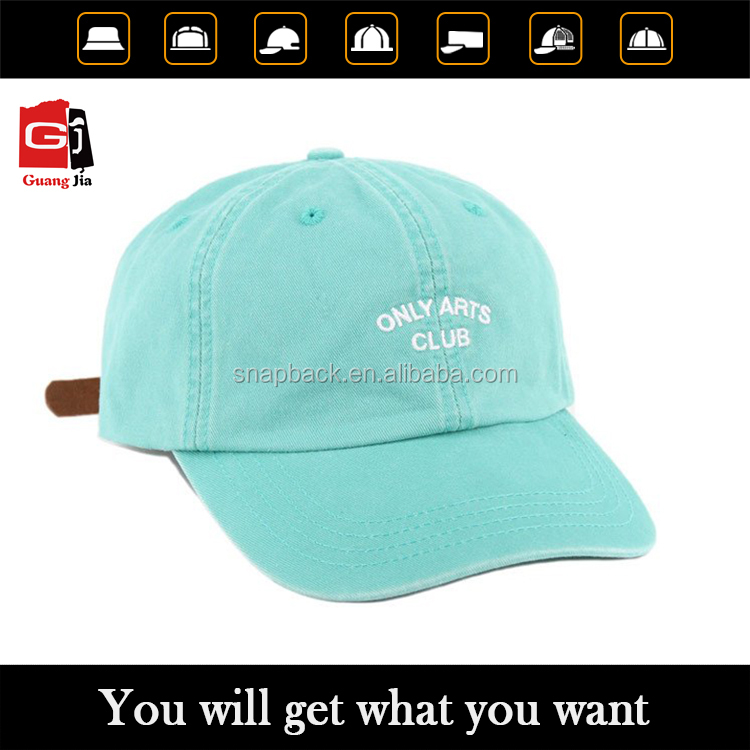 China wholesale customized logo leather strap buckle baseball hat