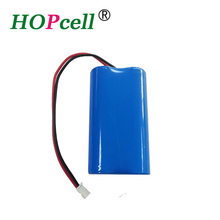 China supplier rechargeable li-ion 18650 battery pack 2S1P 2200mAh 3000mAh li-ion battery 7.4v