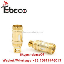 Tobeco Wholesale Authentic mini super tank coil Gold super tank mini coil 0.2 & 0.5 ohm Available