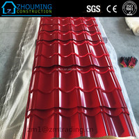 popular color coated steel metal roof tile to Africa