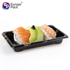 Custom Disposable Blister Plastic square sushi party tray