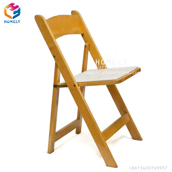 wooden foldable American chair