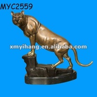 Resin panther statue competitive price Bronze Sculpture for Sale
