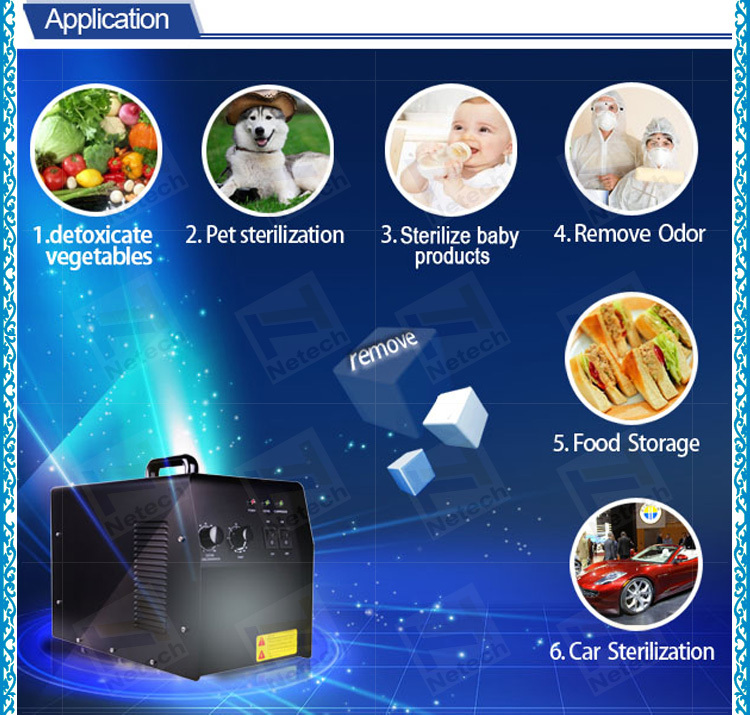 CE 3g 5g 6g 7g medical longevity portable mini ozone generator price