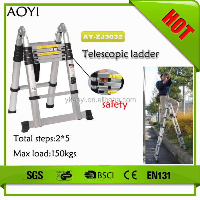Telescopic Ladder Parts : Wholesale ladder aluminium step online buy best