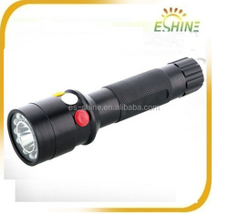 Great durability 3 Colors 18650 Battery Power Light Color Changing Led Torch