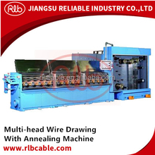 Multi-head Wire Drawing With Annealing Machine