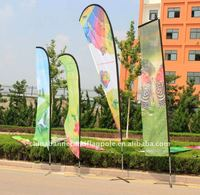 3m 4m 5m roadside banner, Wind feather flag