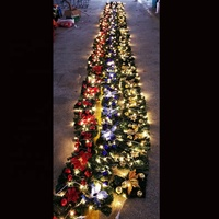10 Meters Outdoor Waterproof LED Christmas Garland for Outdoor Christmas decorations
