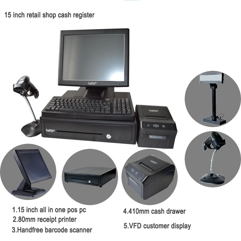 Touch Terminal Pos Solutions all In e Touch Panel