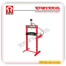 With CE Certificated 12ton Hydraulic Shop Press With Gauge