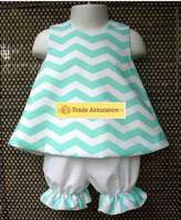 children clothes 2015 cute summer chevron kids outfit brand name clothing in usa