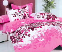 Hot selling fashion new design lovely cute Changxing microfiber quilted bedding sets