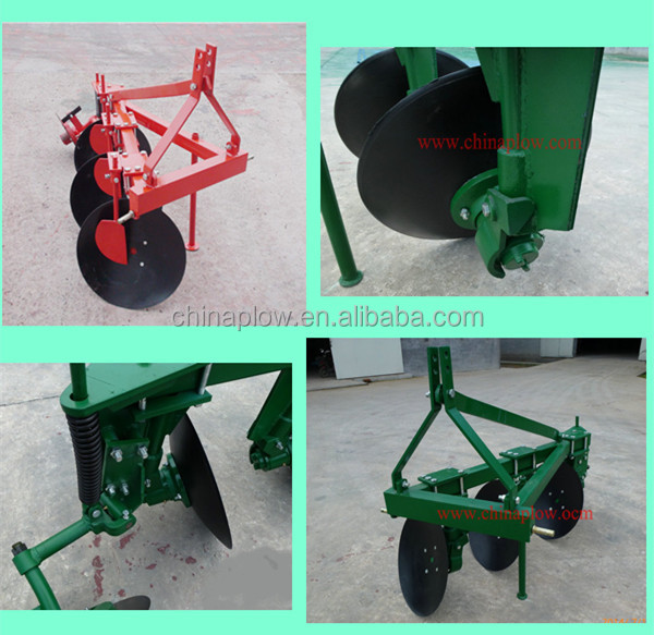 Durable to use farm equipment One way disc plough / Types of the disc plough