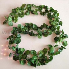 China wholesale decorative vine/garland palstic vine godd quality garland for decoration from yafloral