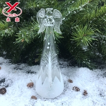 LED angel glass bottle decoration