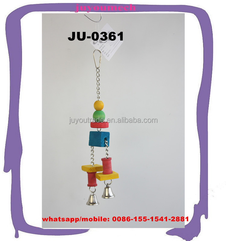 Small Pet Toys Type and Birds Application flying bird toy cages adornments JU-0361