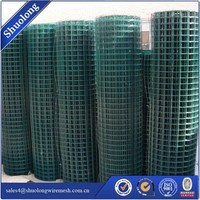 Hebei supply! good wire mesh PVC coated welded bird hutch mesh