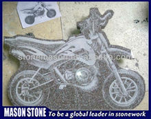 tombstone motorcycle carved wholesale for cremation