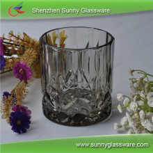 vodka glass shaped candle container