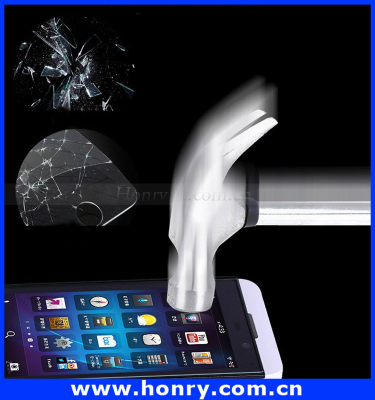 Waterproof anti-oil Mobile phone use Tempered Glsaa Screen Protective Film for blackberry Z10