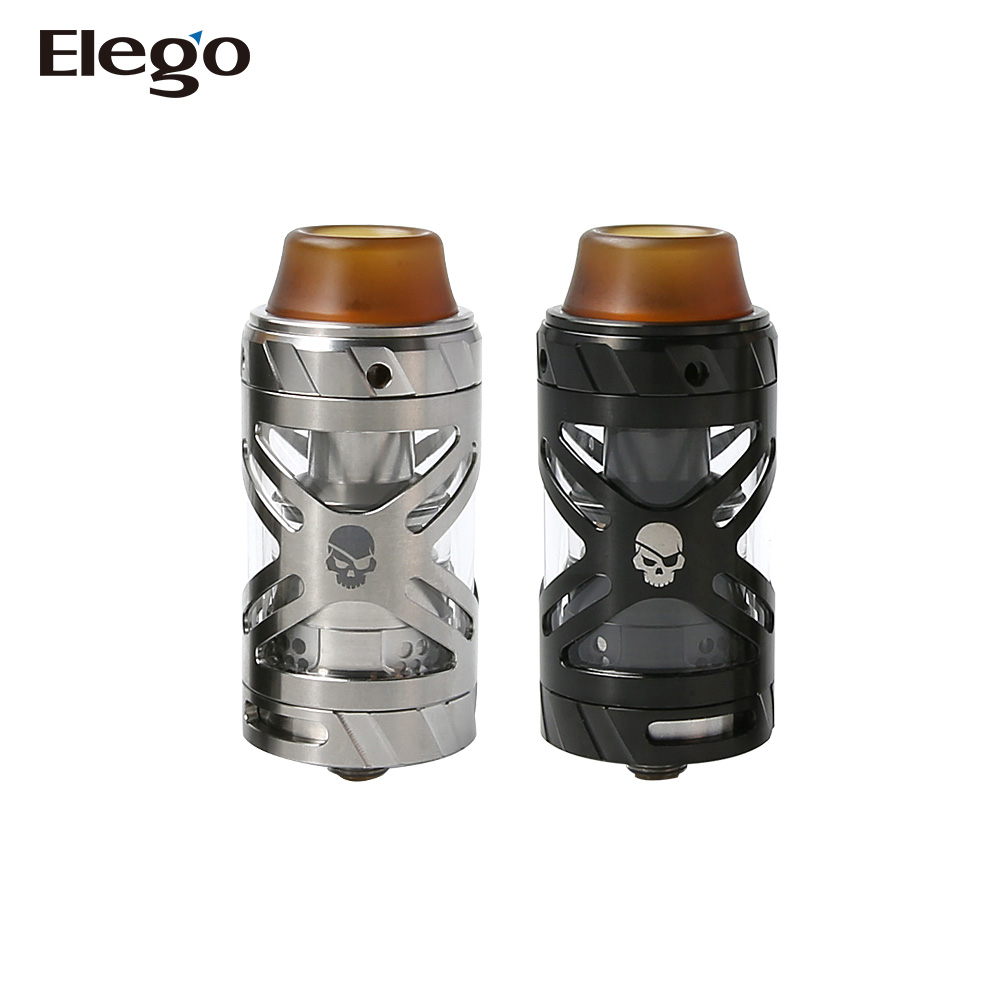 Convenient top refilling 25mm diameter Teslacigs UFO RTA with 3.0ml liquid capacity