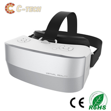 2016 newest all in one Caraok plastic lens VR integrated machine box V12 cardboard plastic 3d vr glass viewer