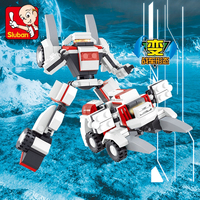 Sluban plastic building blocks children toys space Games star war
